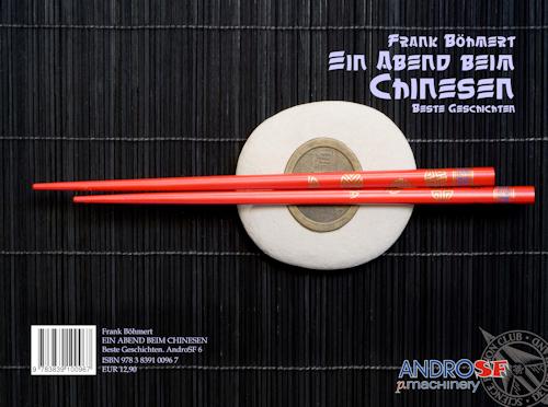 Frank Böhmert. Ein Abend beim Chinesen. Beste Geschichten (AndroSF 6)